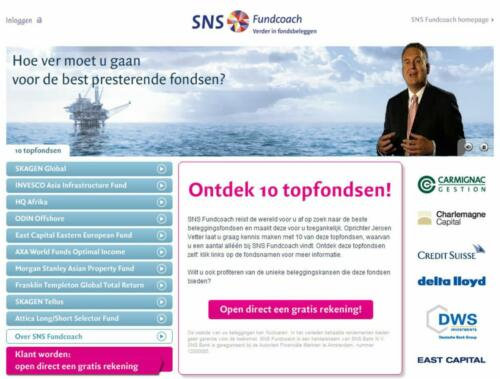 concept SNS-Fundcoach