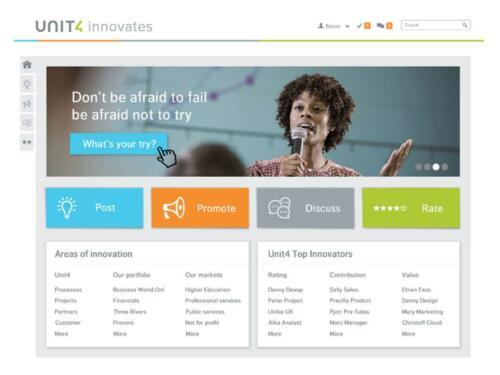 strategie unit4 innovatie4